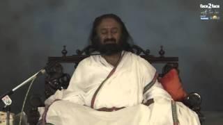 Шри Шри Рави Шанкар: водена медитация на Face2Face | Изкуството да живееш