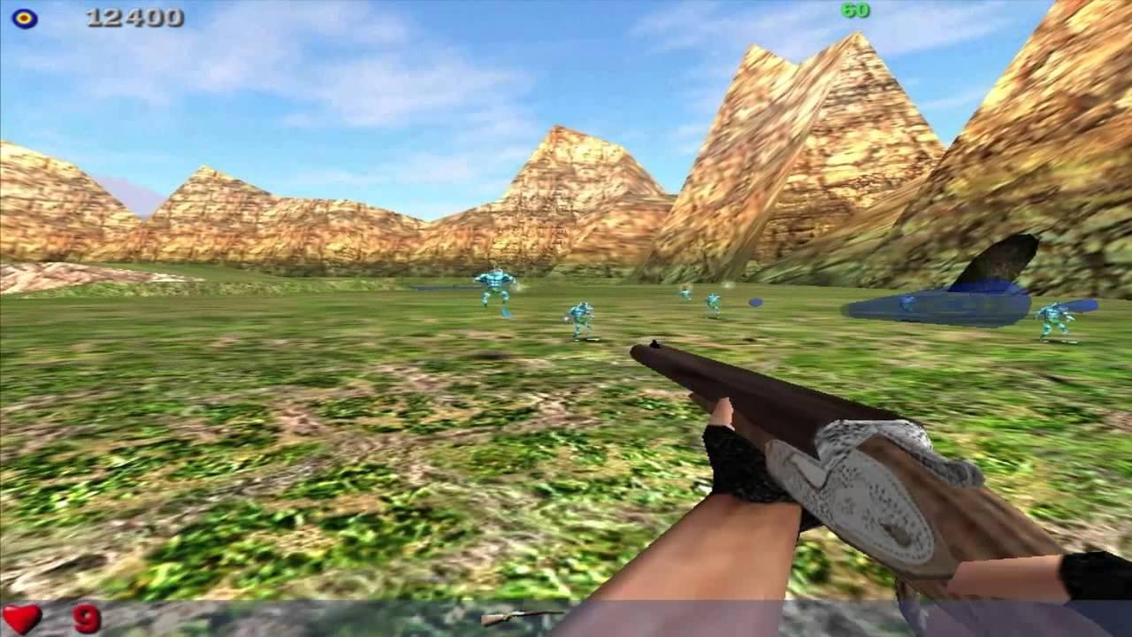 Так выглядела игра во время разработки. На скриншоте присутствуют вырезанные враги и один из множества вырезанных уровней.