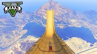 GTA V Online: MEGA SALTO 999,999% INSANO!!! O MAIOR DO GTA