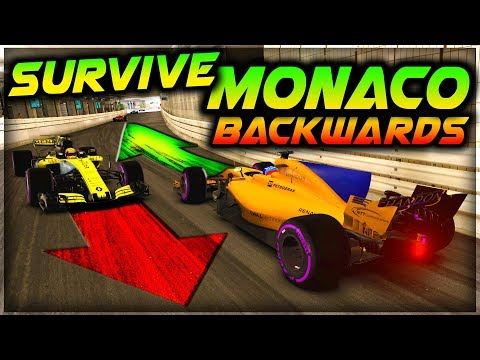 SURVIVE MONACO...BACKWARDS!!! - Insane Hardcore Damage F1 Game