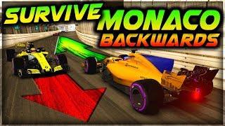 SURVIVE MONACO...BACKWARDS!!! - Insane Hardcore Damage F1 Game thumbnail