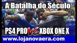 PS4 PRO vs XBOX ONE X - Comparação Escolha Qual é Melhor Comprar 2017 2018 -Santa Efigênia Play 4