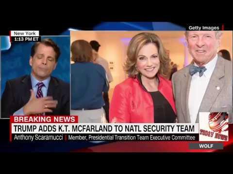 donald trump adds K.T McFarland to Natl Security Team