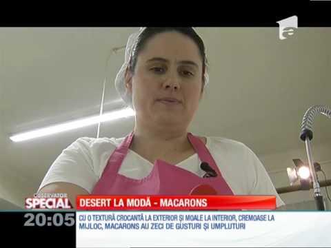 Special! Macarons, prăjiturile de origine venețiană