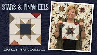Gambar cover Make a Stars & Pinwheels Quilt with Jenny Doan of Missouri Star! (Video Tutorial)