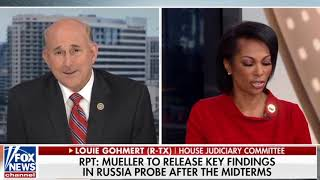 Gohmert Comments on Claim: Mueller Ready to Deliver Key Findings