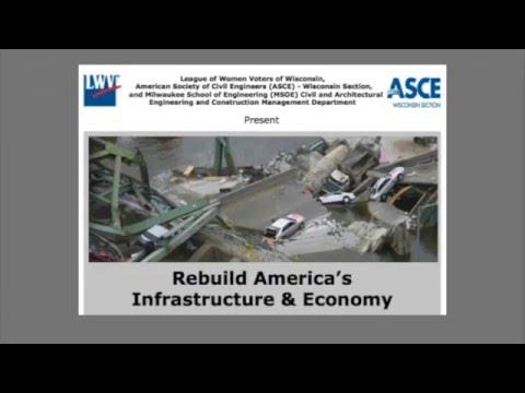 LWV   Rebuild America's Infrastructure and Economy - Milwaukee event