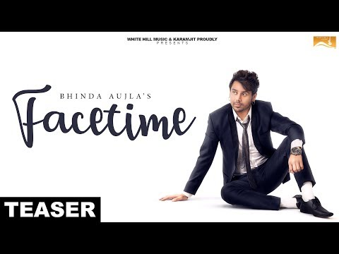 Facetime (Teaser) Bhinda Aujla feat. Bobby Layal | White Hill Music | Releasing on 5th Jan