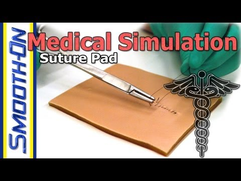 Medical Simulation: Creating Your Own Silicone Suture Training Pad