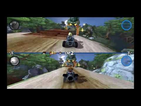 Beach Buggy Racing Split Screen