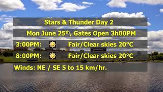Stars & Thunder Mon June 25 Day 2