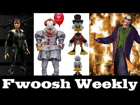 Weekly! It Pennywise, Duck Tales, Tekken, Thor: Ragnarok, Joker, Iron Man, Mortal Kombat and TMNT! thumbnail