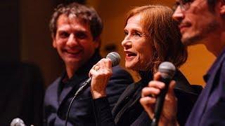 Isabelle Huppert and Serge Bozon   NYFF Live: Making 'Mrs. Hyde'    NYFF55