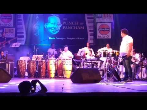 One Two Cha Cha Cha  Usha Uthup  RD Burman  Aruna Irani  Shalimar  Concert