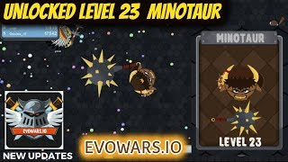 EvoWars.io Evolutions Unlocked Level 23 MINOTAUR