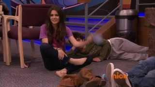 Victoria Jusice Soles Feet And Toes Tori Vega