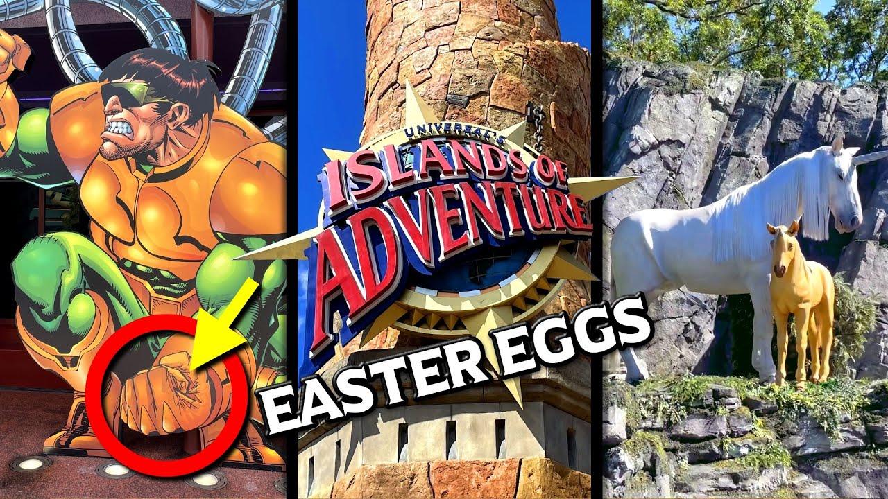 10 Fun Easter Eggs at Islands of Adventure - Universal Orlando