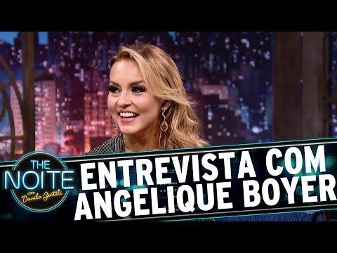 Entrevista com Angelique Boyer | The Noite (31/07/17)
