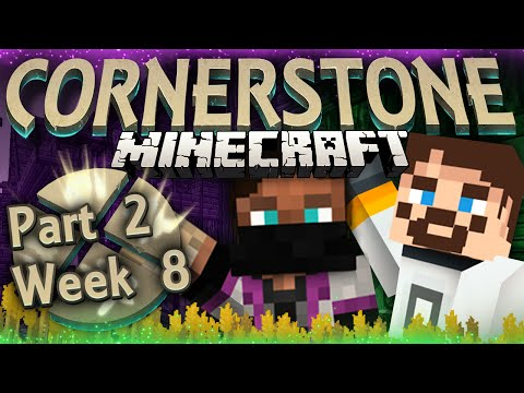 Minecraft Cornerstone - Flax Is String (Week 8 Part 2)