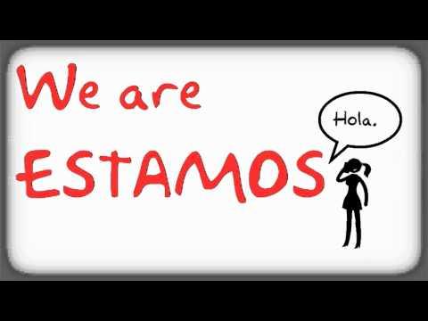 Spanish Verb Conjugation The ESTAR song LightSpeed Spanish - YouTube