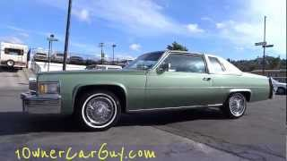 77 Cadillac Coupe De Ville Deville De Elegance 425 7.0L Big Block Walk Around Fleetwood Brougham