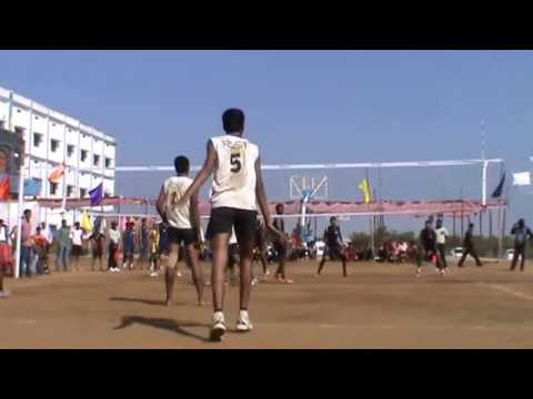 volleyball match aurangabad v/s pune gadchiroli part 1