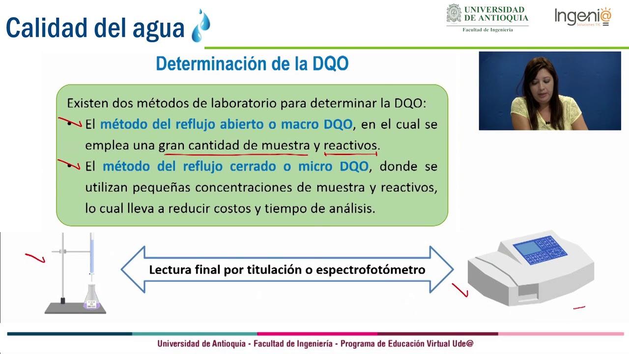 Download Demanda Química de Oxigeno (DQO