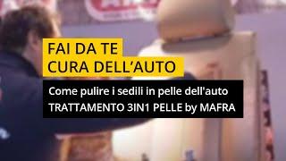 Interni Auto - Trattamento 3in1 pelle by MA-FRA