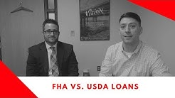 20% Down on your loan? NO NEED!!! USDA versus FHA Loan Programs