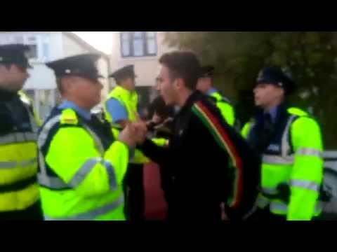 Irish water protest