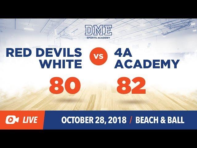 Red Devils White vs. 4A Academy (Semi-Final)