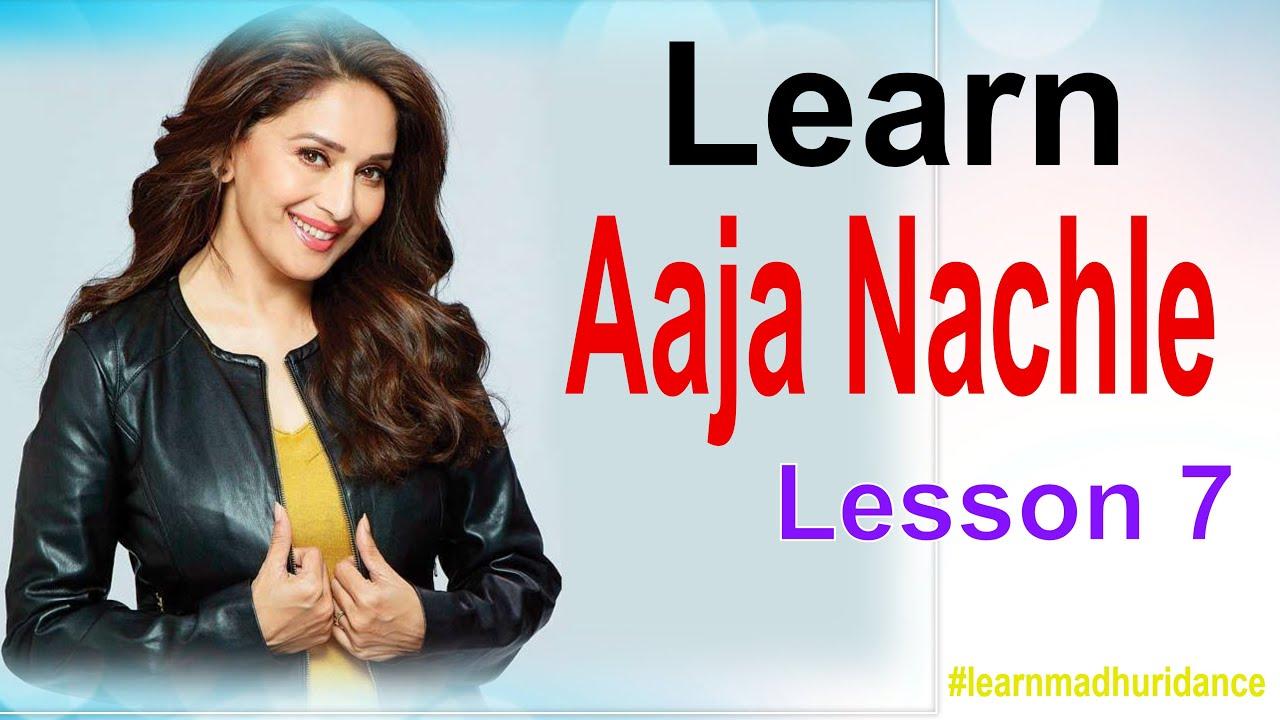Download madhuri dixit dance lesson 7   Aaja nachle   learn madhuri dance
