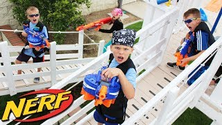Epic Playground Nerf War thumbnail