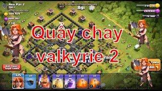 NMT | Clash of clans | Thử thách đánh chay valkyrie 2