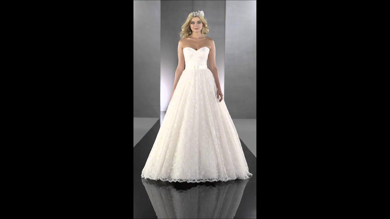 Designer Ball Gown Wedding Dreses - Martina Liana 649 - YouTube