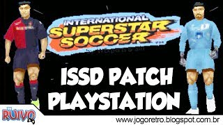 International Superstar Soccer Deluxe 2017 (ISSD 2017 - WE2002 Patch) no Playstation 1 / PS1