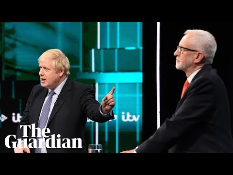 Boris Johnson And Jeremy Corbyn Clash In ITV Election Debate