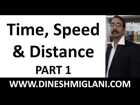 Best Time Speed and Distance Concept (Part 1) with Tricks and Shortcuts