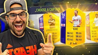 OMG HIGHEST RATED EPL DRAFT EVER! FIFA 18 Ultimate Team