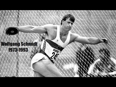 Wolfgang Schmidt - The Master of Discus (part 1)