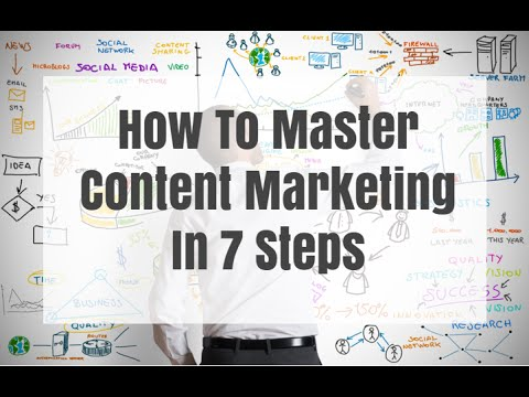 How To Master Content Marketing In 7 Steps In 2016 (Tips And Strategies)