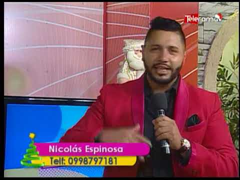 Nicolás Espinosa Cantante