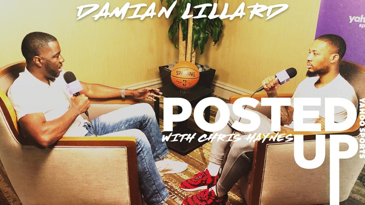 Damian Lillard to discuss his MVP caliber season and thoughts on Kobe on Posted Up with Chris Haynes