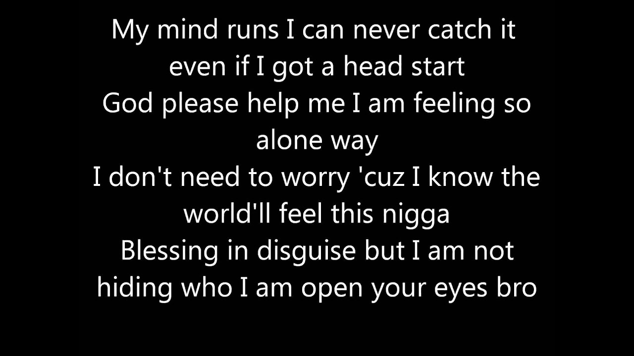 Kid cudi quotes from the prayer, kid cudi.