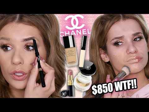 FULL FACE Testing CHANEL Makeup... WORTH IT or TOSS IT?