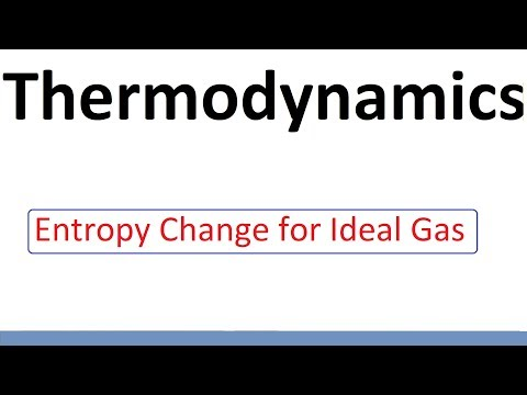 Entropy Change For Ideal Gas   L38 Thermodynamics By D Verma Sir