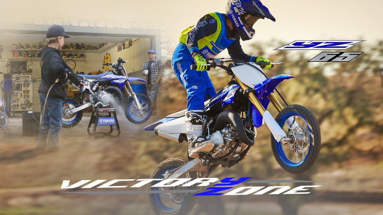 Yamaha Introduces YZ65 Youth Motocross Bike - The Drive