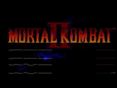 Mortal Kombat II - Title/Character Select/Wasteland (YM2612 Rearranged)
