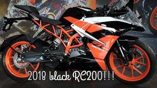 2018 KTM RC200 BLACK! Walkaround and updates!