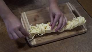 Домашний сыр косичка (Чечил). Подробный видео рецепт